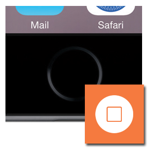 Home button reparatie iPhone 7