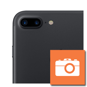 iPhone 7 plus camera achterzijde reparatie