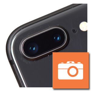 iPhone 8 plus camera achterzijde reparatie