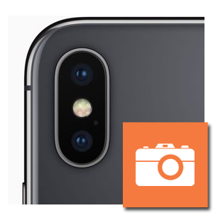 iPhone X camera achterzijde reparatie