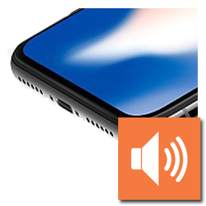 Luidspreker iPhone X reparatie
