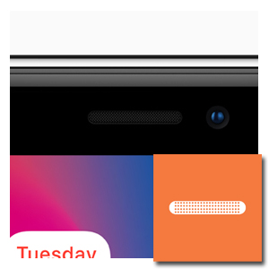 oorluidspreker reparatie iPhone X