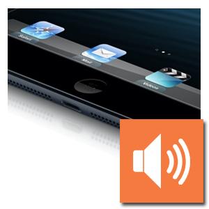 iPad 2018 luidspreker reparatie