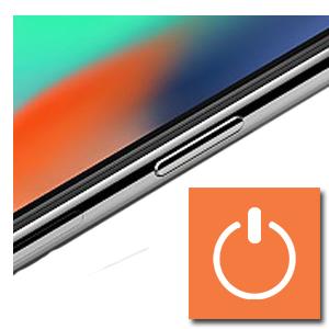 aan-/uitschakelaar reparatie iPhone XS