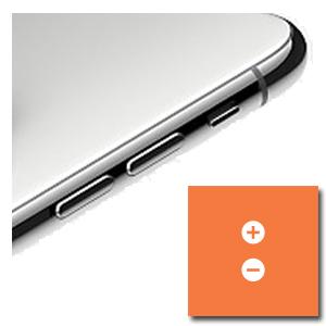 iPhone XS Max volumeknoppen of muteschakelaar reparatie