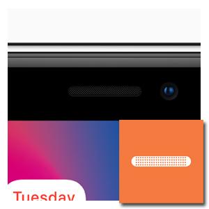 oorluidspreker reparatie iPhone XR