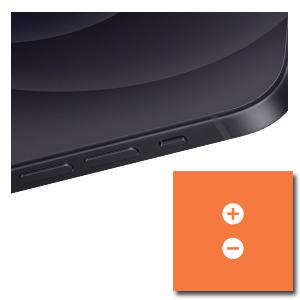 iPhone 12 Pro Max volumeknoppen of muteschakelaar reparatie